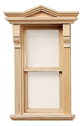 Maison De Poupées Miniature Constructeurs BRICOLAGE 1:12 échelle Victorien En bois Fonctionnelle Fenêtre