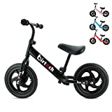 "Best Balance Bikes - 12"" Balance Bike Carbon Steel Frame No Pedal Review"