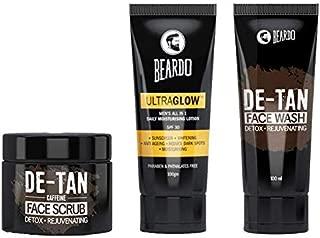 Beardo Summer Combo (De-Tan Face Wash, De-Tan Scrub and Ultraglow Face Lotion)