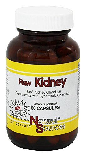 Raw Kidney Natural Sources, Inc. 60 Caps