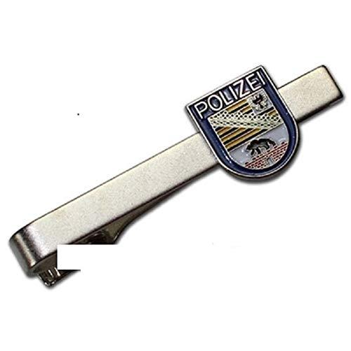 """Krawattenklammer 57x6mm""""Polizei"""" Sachsen-Anhalt 102 613"""