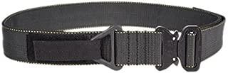 Tactical Assault Gear Cobra Buckle Riggers Belt, Medium 32-34in, Black