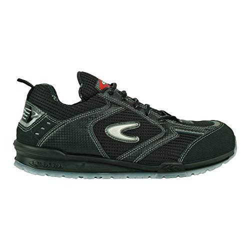 Cofra Sicherheitsschuhe S1P Petri Running sportliche Halbschuhe, Große 43, schwarz, 78450002