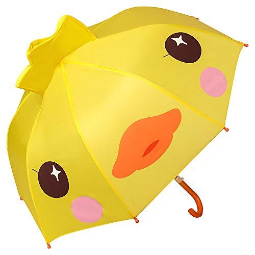VON LILIENFELD Regenschirm Kind Kinderschirm Junge Mädchen Motiv Küken (bis ca. 8 Jahre)