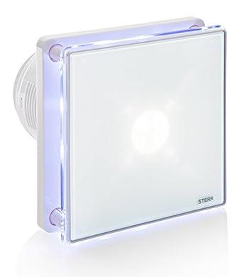 Foto di STERR - Aspiratore per bagno con retroilluminazione LED e timer - BFS100LT