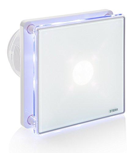 STERR - Extractor de baño con retroiluminación LED y un temporizador - BFS100LT