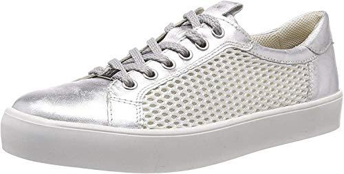 Caprice Inou, Zapatillas para Mujer, Multicolor (Silver Mesh...
