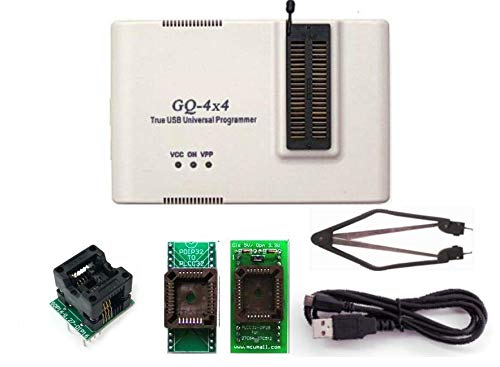 PRG-056 MCUmall Canada Made GQ Brand True USB GQ-4X V4 (GQ-4X4) Universal Chip Device Programmer EPROM Flash PIC BIOS AVR Full Pack