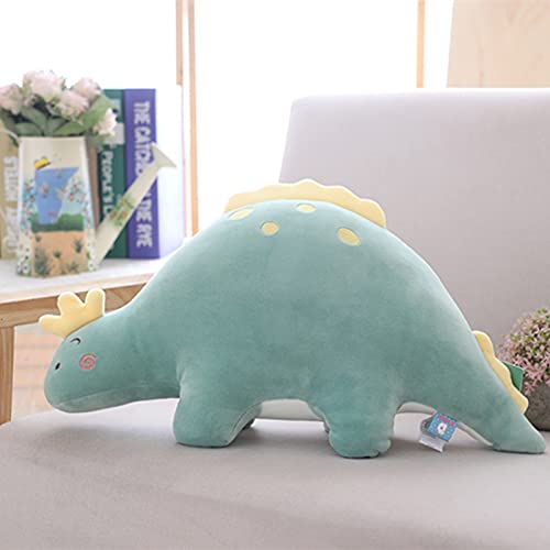 LYXBWT Almohada Suave Bubble Dragon Juguete de Felpa Abajo algodón Dinosaurio muñeca niños Regalo 85cm Verde