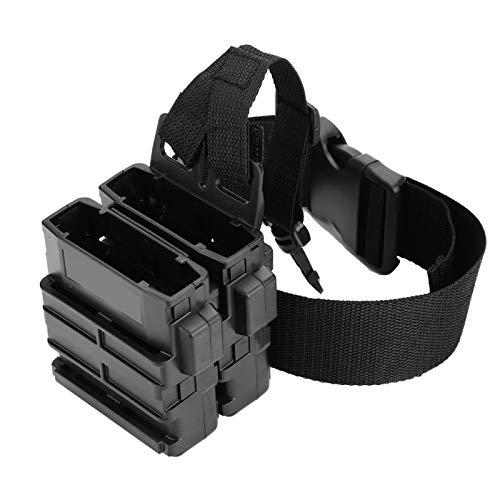 EVTSCAN Tactical Clip Magazine Pouch Bag Holder Quick Pull Box Accesorio para Clip de munición