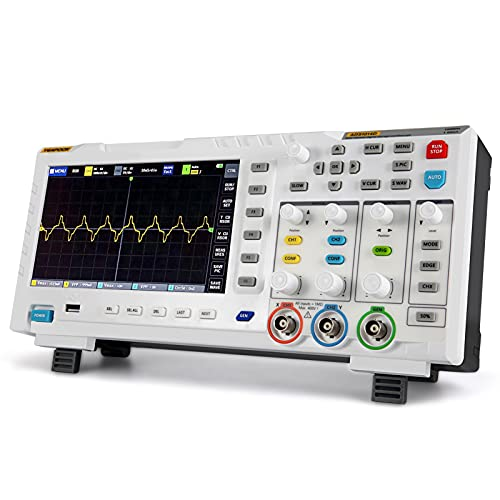 YEAPOOK ADS1014D 2 in 1 Digital Oscilloscope DDS Signal Generator with 2 Channels 100Mhz Bandwidth 1GSa/s Sampling Rate (ADS1014D)