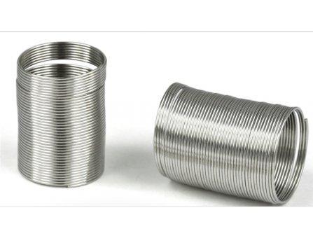 Meyco - Anello a spirale 17,5 mm, 40 anelli