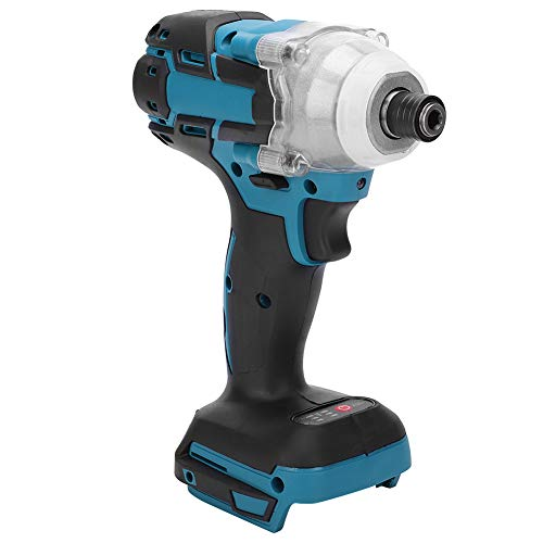 Electric Screwdriver, Lithium Powered Cordless Brushless Impact Screwdriver, 1/2in Square Drive Portable Handheld Power Drill, 520N.M High Torsion, 0-2700 RPM No Load Speed