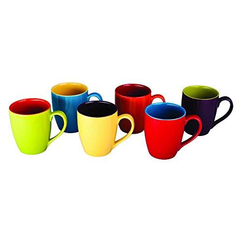 BIA Cordon Bleu Colored Mugs, Set of 6 by BIA Cordon Bleu