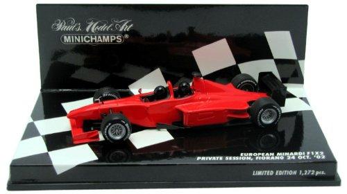 Minichamps–400020510–Veicolo in Miniatura–European Minardi F1X 2–2002–Scala 1/43