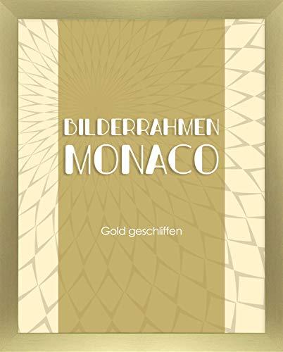 Homedeco-24 Monaco - Marco de fotos (36 x 53 cm, pulido con cristal acrílico de 1 mm, tamaño a elegir)