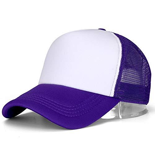 1 Uds, Gorra Unisex Informal, Gorra de béisbol de Malla Lisa, Sombreros Ajustables para Mujeres, Hombres,...