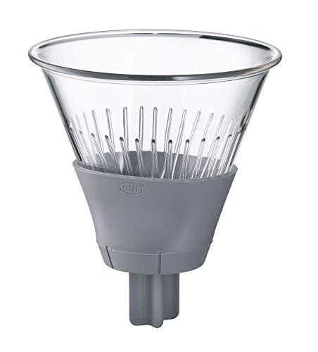 alfi 0095.218.001 Filtre à café Tritan Gris sidéral Taille 4 Filtre à cafetière pour cafetière isotherme à infuser directement