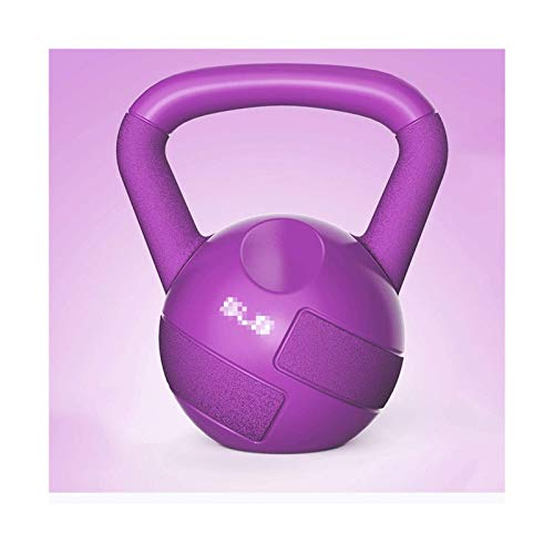 FSJIANGYUE Fitness equipment barbell Kettlebell Weights,Solid Dip Dumbbell,Easy Grip Weights For Total Body Fitness Training,Kettlebell Set For Home Gyms Fitness gift (Color : 2.3kg/5 lb pink)