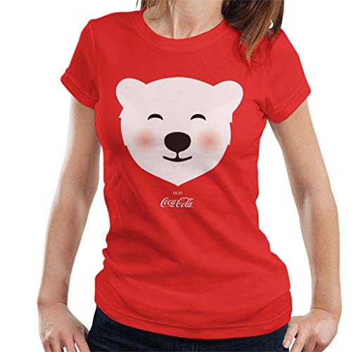 Coca-Cola Polar Bear Blush Women's T-Shirt Red