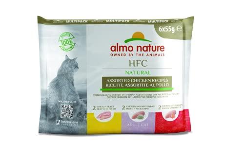 Almo Nature Hfc Natural Lot de 6 Pochettes pour Chat