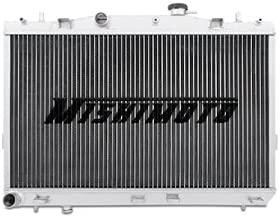 Mishimoto MMRAD-TIB-01 Hyundai Tiburon Performance Aluminum Radiator, 2003-2008, Silver