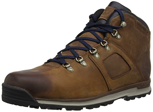 Timberland Herren GT Scramble Leather Waterproof Chukka Boots, Braun (Premium Brown/Navy), 41 EU