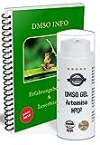 Eu Leivys DMSO GEL 75 - Crema en spray de Artemisia con extracto de dimetilsulfóxido 99,9%, con aplicación manual de efecto 2 x 50 ml