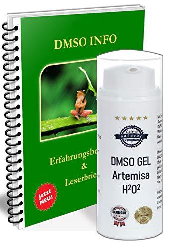 Leivys DMSO GEL Salbe Beifuss Artemisia Auszug mit Dimethylsulfoxid 99,9% mit Gratis PDF Handbuch Anwendung Wirkung 50ml