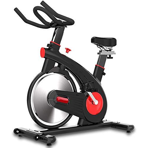 WJFXJQ Ejercicio Bike Estacionario, Bluetooth Puede conectarse a la aplicación, Datos de Ejercicios de grabación, Cinturón en Negrita y Volante Pesado, cojinete de Carga hasta 200 kg