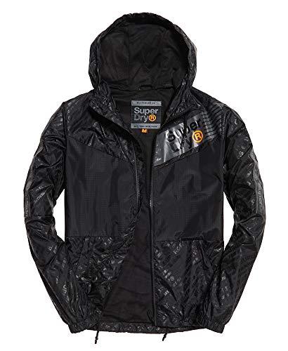Superdry Herren Jacke Ollie Core Cagoule schwarz (200) XL
