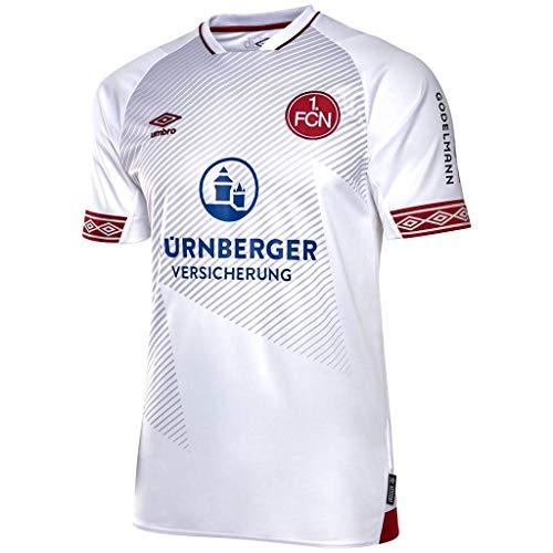 1. FC Nürnberg Umbro Trikot Away 18/19 (S, weiß)