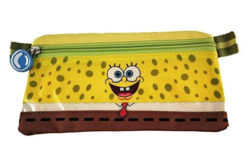 Nickelodeon Estuche colegial unisex Bob Esponja amarillo