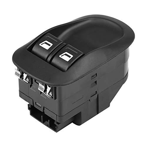 KIMISS Interruptor elevalunas eléctrico para automóvil, interruptor de control de la ventana delantera para 206 98-10 6554WQ (Delantero izquierdo/derecho)