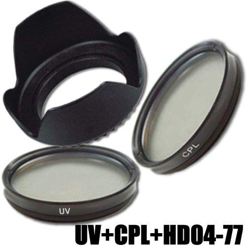 DynaSun Filtro Ultravioleta UV UV77 + Polarizador Circular C