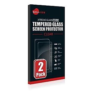 savvies Cristal Templado Compatible con Polar M400 / M430 (2 Unidades) Protector Pantalla Vidrio Proteccion 9H Pelicula Anti-Huellas