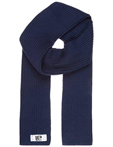 Lower East Herren Strickschal, breitrippig, in verschiedenen Farben, Gr. One size, blau (Marine)