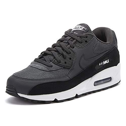 Nike Air MAX 90 Essential, Zapatillas de Atletismo para Hombre, Negro (Anthracite/White/Black 000), 41 EU