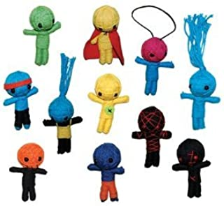 String VooDoo Dolls - set of 11 small dolls