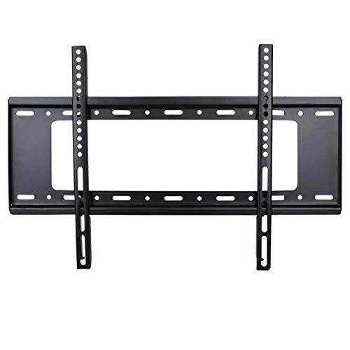 Soporte de Montaje en Pared inclinable para TV de Perfil bajo,para la mayoría de televisores de Pantalla Plana Curva de Plasma OLED LCD LED de 37-75 Pulgadas,Carga máxima VESA 600x400 mm (75in,Black)
