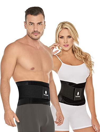 Tecnomed Aerobics Waist Trainer Belt Body Shaper faja For An Hourglass Shaper