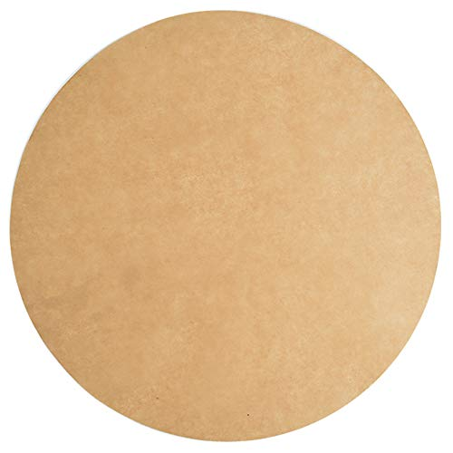 100pcs 9 Inch Non-stick Parchment Paper Baking Sheets, Numola Unbleached Pre-Cut Wax Paper for Grill, Line, Cook, Steam, Air Fryers, Hamburger Patty Paper … (Unbleached)