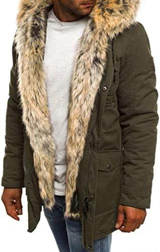 Men s Windproof Down Cotton Coat Warm Jacket Mens Thicken Cotton Parka Jacket Warm Coat Windbreaker product image