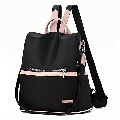 Mochila Hombrebrand Anti Theft Women Backpack Purse Oxford Cloth Canvas Back Pack Feminine Student Bookbag Fashion Travel