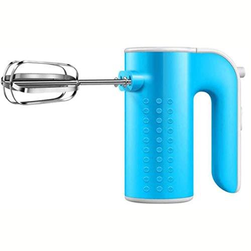 Zjcpow De Mano del batidor de Huevo Blue mezcladora de 200W, Motor de Cobre Puro, enviarla rápidamente en 90 Segundos, Velocidad 3 Cake Mixer JIAJIAFUDR (Color: -, Tamaño: -) xuwuhz