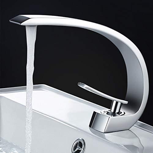 Trintion Chrom Waschtischarmatur Wasserhahn Bad Armatur Waschbecken Messing Einhebelmischer Mischbatterie Waschtisch Armaturen für Badezimmer