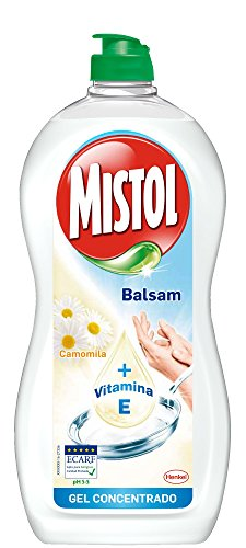 Mistol Detergente Limpia Vajillas a Mano, Camomila - 650 ml