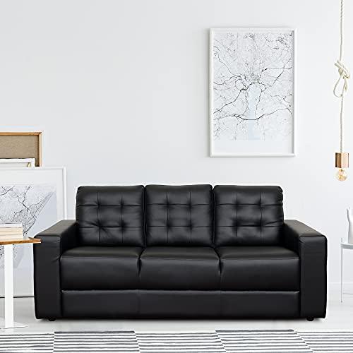 TADesign Valeria Leatherette Sofa (3 Seater)
