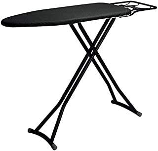 Table à repasser Hauteur Réglable de planche à repasser Cintre, cadre noir / blanc, repose-fer à repasser de sécurité, ser...