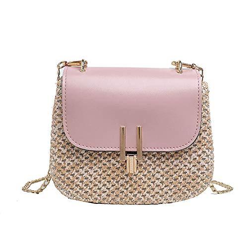 Rieten Emmer Tassen Voor Vrouwen 2019 Zomer Nieuwe Mode Crossbody Tas Dames Kleine Handtassen en Handtassen Vrouwelijke Reizen Messenger Tassen